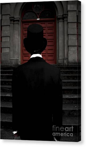 Undertaker Canvas Print - Stairwell Of Darkness by Jorgo Photography - Wall Art Gallery