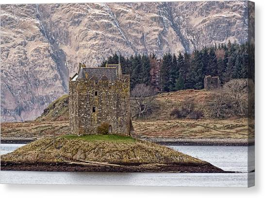 Stalker Castle Canvas Print by Sam Smith