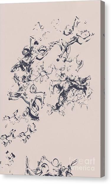 Decoration Canvas Print - Stallions Inc. by Jorgo Photography - Wall Art Gallery