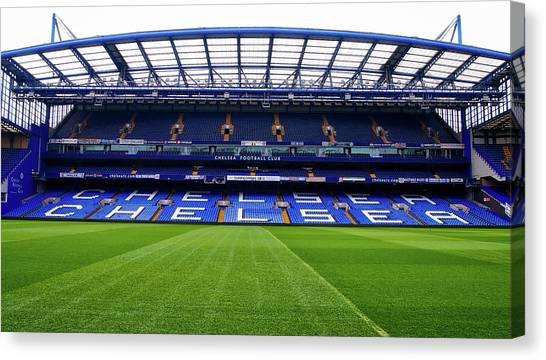Premier League Canvas Print - Stamford Bridge by Pixabay