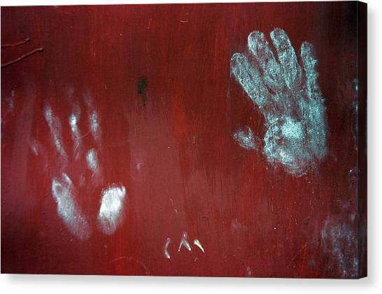 Stamped Canvas Print by Jez C Self