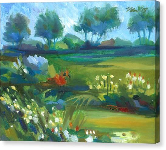 Stan Hywet Garden Canvas Print