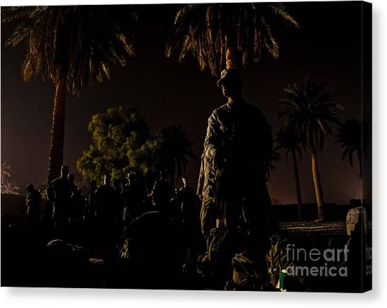 Iraq Canvas Print - Stand By by Liesl Marelli