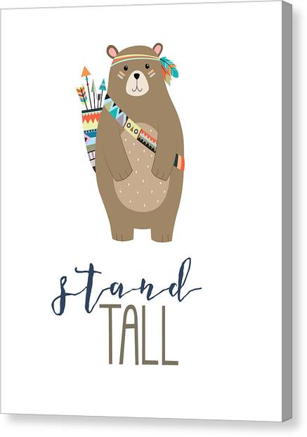 Tall Canvas Print - Stand Tall by Jaime Friedman