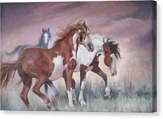 Standing Ground Canvas Print
