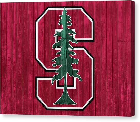 Stanford University Canvas Print - Stanford Barn Door by Dan Sproul