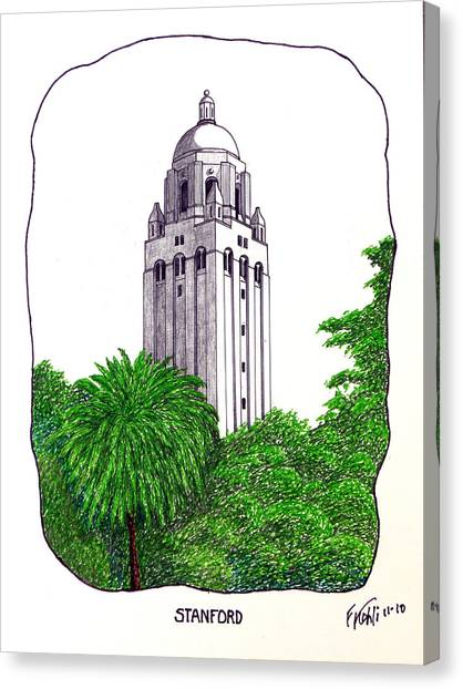 Stanford Canvas Print