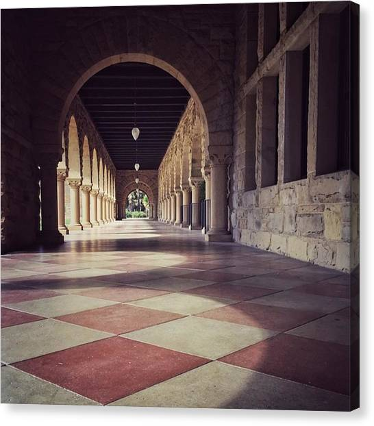 Schools Canvas Print - Stanford University #buildings by Jonathan Nguyen