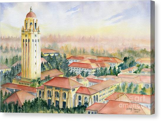 Stanford University Canvas Print - Stanford University California by Melly Terpening