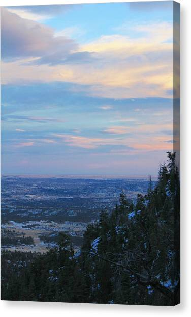 Stanley Canyon Hike Canvas Print