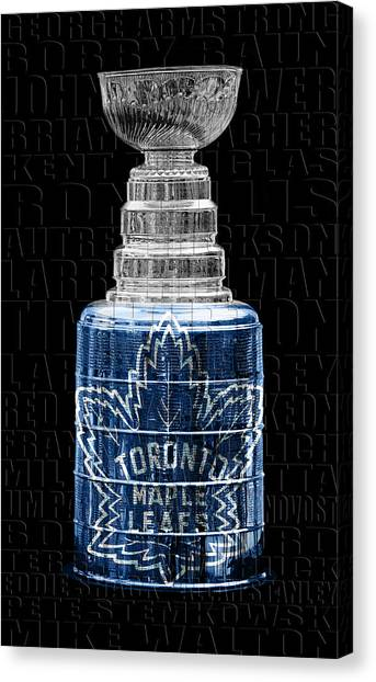 Toronto Maple Leafs Canvas Print - Stanley Cup 1967 by Andrew Fare