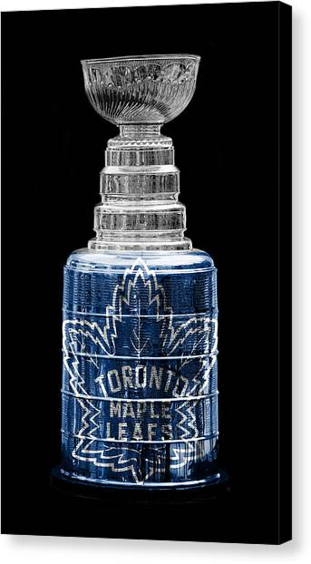 Toronto Maple Leafs Canvas Print - Stanley Cup 2b by Andrew Fare