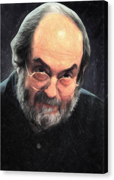 Clockwork Orange Canvas Print - Stanley Kubrick by Taylan Apukovska