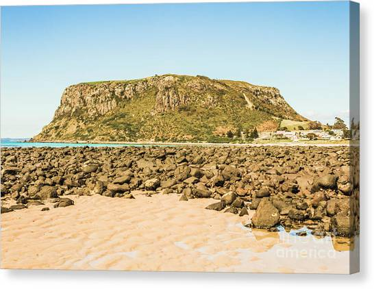 No People Canvas Print - Stanley Seascape by Jorgo Photography - Wall Art Gallery