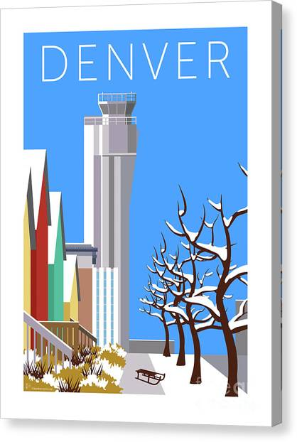 Stapleton Winter Canvas Print