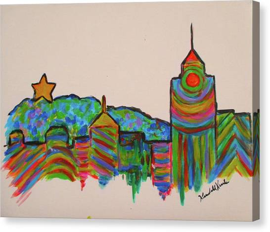 Star City Play Canvas Print