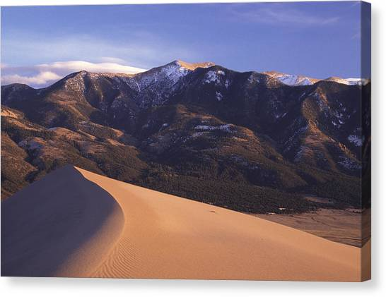 Star Dune Canvas Print by Eric Foltz