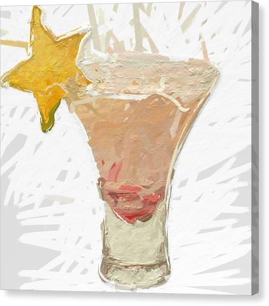 Canvas Print - Star Fruit Sangria by Modern Art