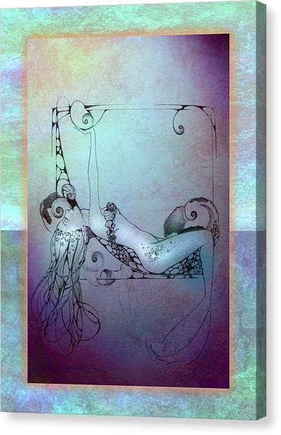 Star Mermaid Canvas Print