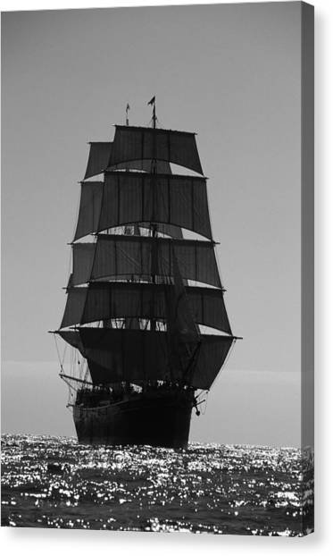 Star Of India Backlit Canvas Print