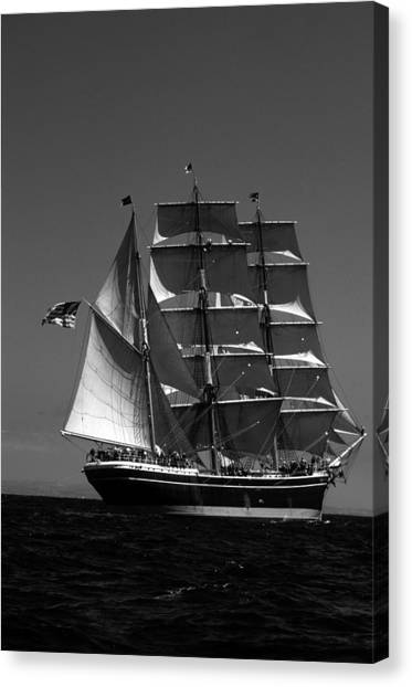 Star Of India Reaching Canvas Print