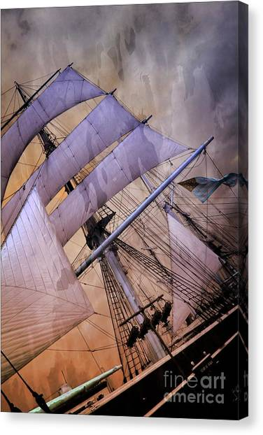 Star Of India San Diego 2 Canvas Print