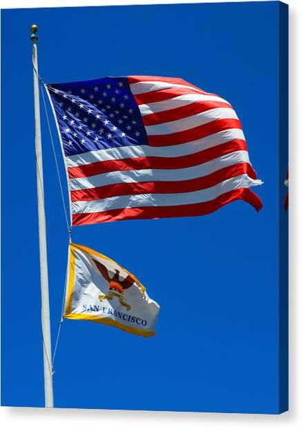 Star Spangled Banner Canvas Print