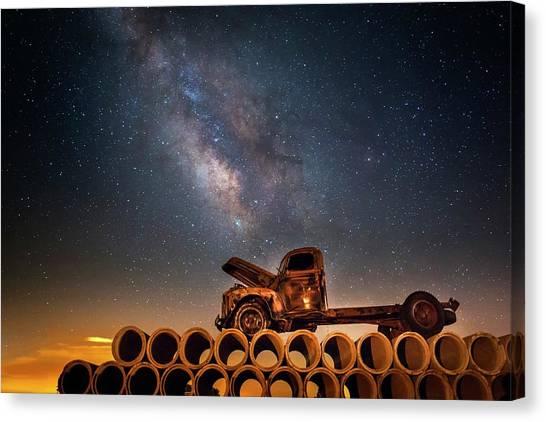 Star Struck Truck  Canvas Print