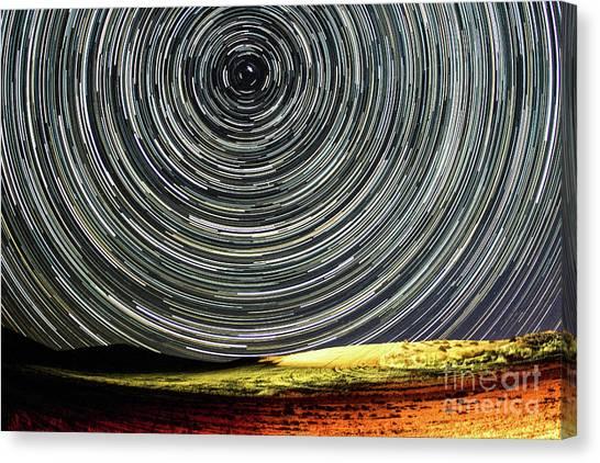 Star Trail Canvas Print
