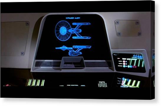 Star Trek Canvas Print - Star Trek II The Wrath Of Khan by Super Lovely