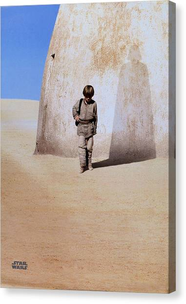 Chewbacca Canvas Print - Star Wars Episode I - The Phantom Menace 1999 7 by Fine Artist
