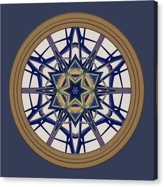 Star Window I Canvas Print