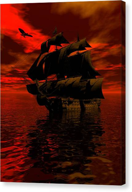 Starboard Tack Canvas Print