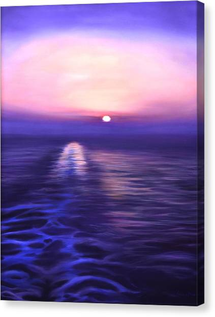 Starboard View Canvas Print