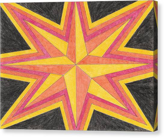Starburst 2 Canvas Print by Eric Forster