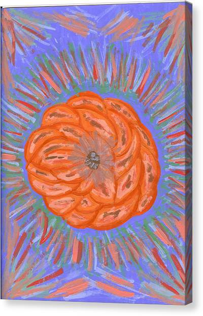 Starburst Canvas Print by Laura Lillo