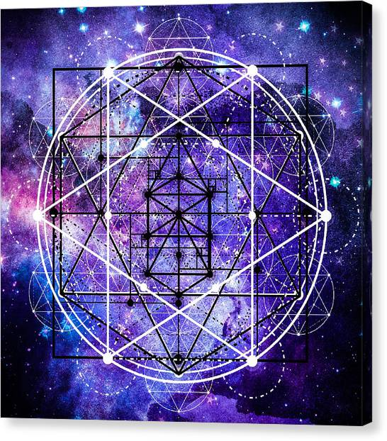Canvas Print featuring the digital art Stardust by Bee-Bee Deigner