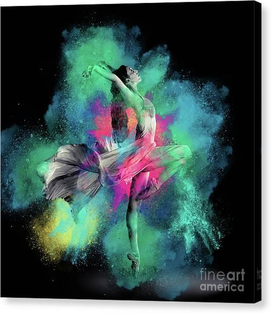 Stardust Dancer Canvas Print