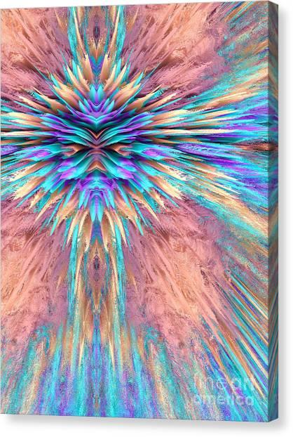 Light Paint Canvas Print - Stare by John Edwards
