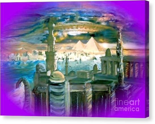 Stargate Canvas Print
