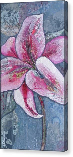 Petals Canvas Print - Stargazer IIi by Shadia Derbyshire