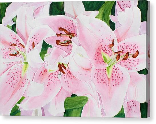 Stargazers Number 3 Canvas Print