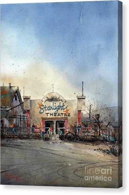 Starlight Theater Canvas Print