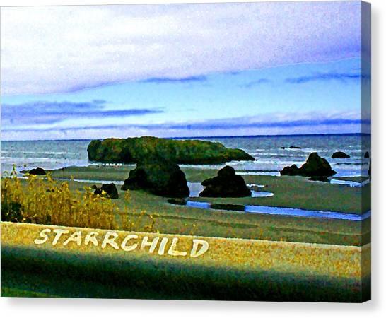 Starrchild Canvas Print