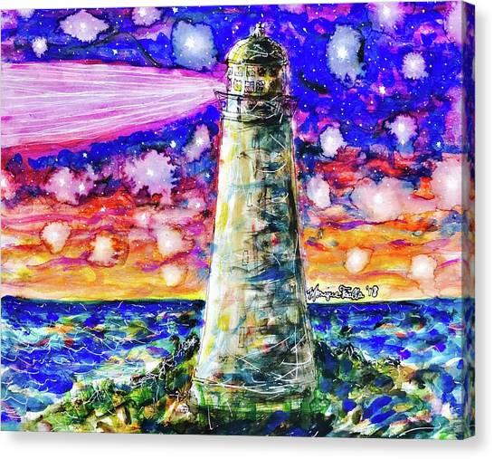 Starry Light Canvas Print