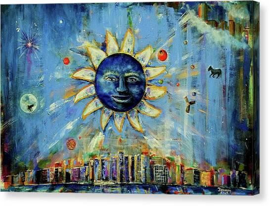 Starry Night 2017 Canvas Print