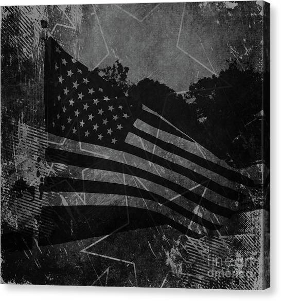 Libertarian Canvas Print - Stars And Stripes Forever by Luther Fine Art