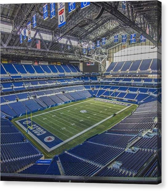 Lucky Canvas Print - #stars #athletes #sports #football #nfl by David Haskett II