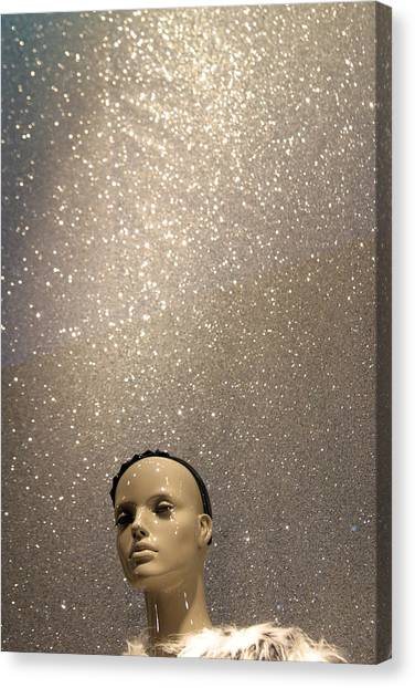 Stars Out For Me Canvas Print by Jez C Self