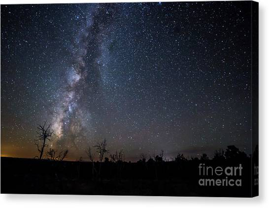 Verde Canvas Print - Stars Over Mesa Verde by Twenty Two North Photography
